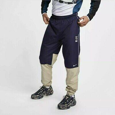 Nike x Cav Empt Track Pants Navy Blue Beige AR1398 416 Mens XXl