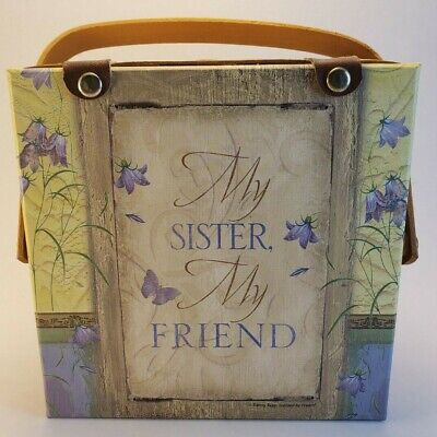 Candle Gift Basket - My Sister My Friend - 4 Candles Inside - Good Condition ()