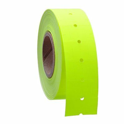 10 Rolls 5000 Tags Yellow Labels For Motex Mx-5500 L5500 Mx989 Price Gun