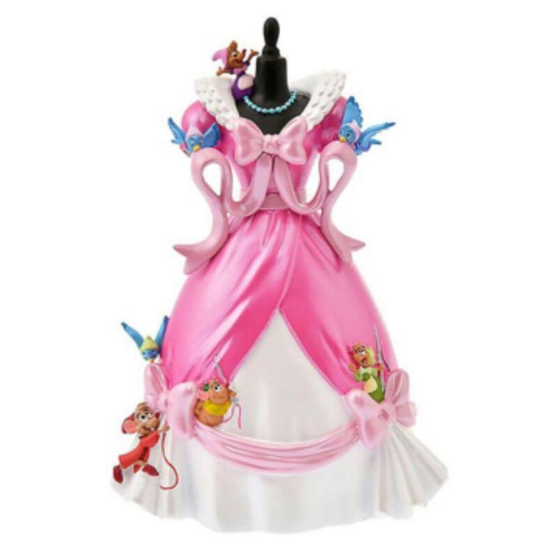 Disney Store Japan Cinderella Pink Dress Figure Anniversary Collection Revival