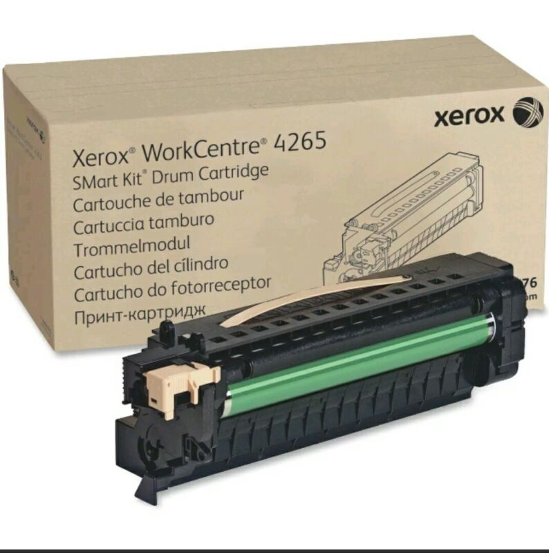 Genuine Xerox Drum Kit for the WorkCentre 4265, 113R00776,Black