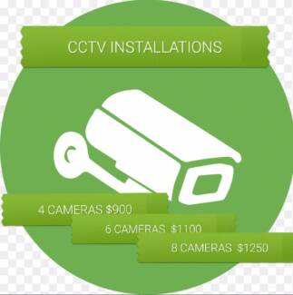 CCTV CAMERA INSTALLATION FOR SECURITY