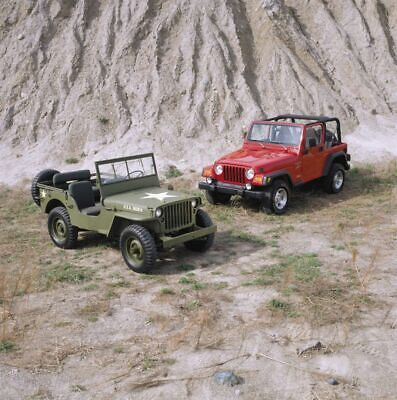 1943 Willys MB,1996 Jeep Wrangler