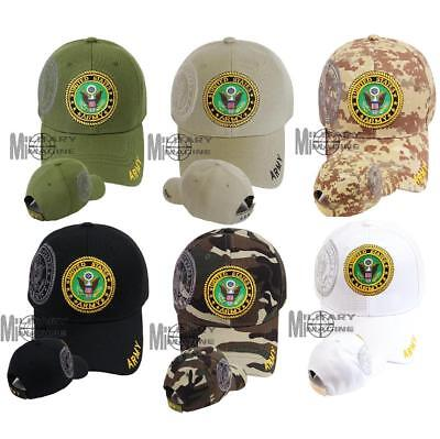 Army Shield Logo Shadow Military Cap Cap official Licensed camo Army ()
