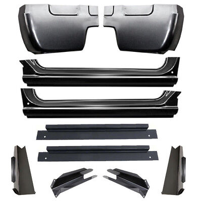 67-72 Chevy C10 Truck Cab Corner Rocker Panel Slip-On Cab Support Mount 10PC Kit Chevy Truck Cab Mounts