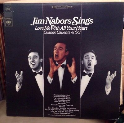 Used Jim Nabors Sings  Love Me With All Your Heart  Vinyl Lp