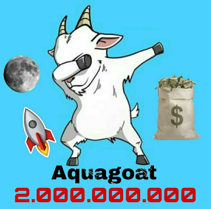 2 billion aquagoat - MINING CONTRACT - Crypto Currency