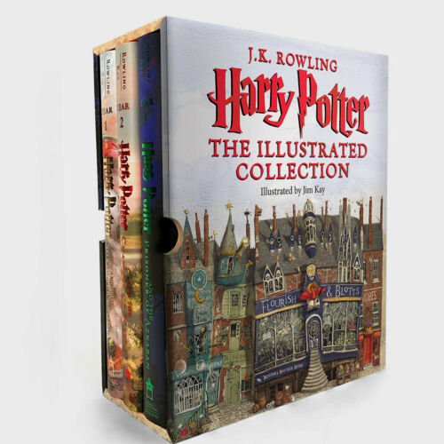 Harry Potter Ser.: Harry Potter: the Illustrated Collection (Books 1-3 Boxed...