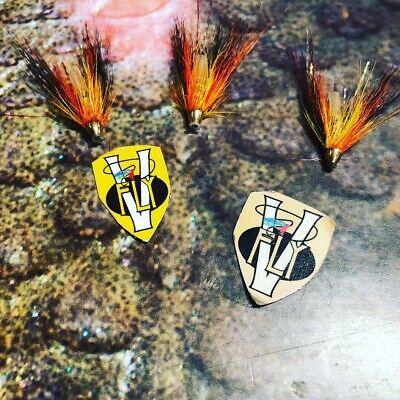 2 V Fly Ultimate Alta Tronderlynet Templedog Salmon Tube Flies /& Trebles