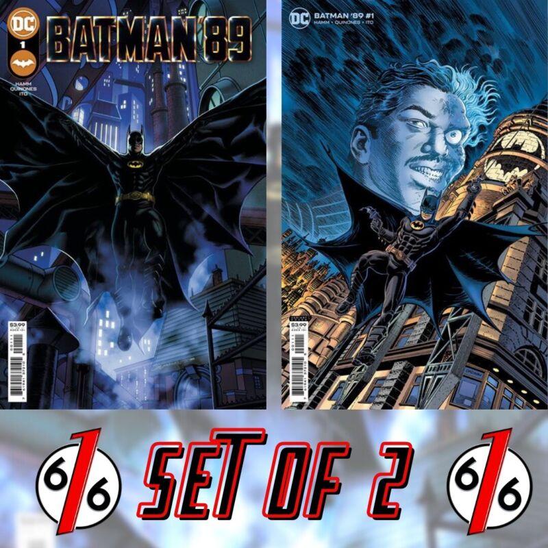 🚨🔥🦇 BATMAN 89 #1 SET Cover A Quinones Main & Cover B Jerry Ordway Variant NM