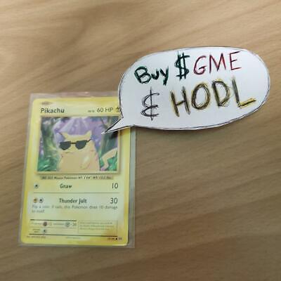 wall street pikachu (PSA 11 gme mint) (dont bid)