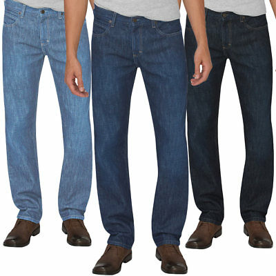 - Dickies XD730 Men's Straight Leg Regular Fit Jeans 5 Pocket Heritage Denim Pants