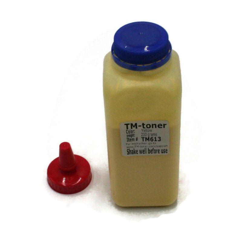 Yellow 200g Toner REFILL  for Lexmark C3224dw, C3326dw, MC3224, MC3326adwe no ch