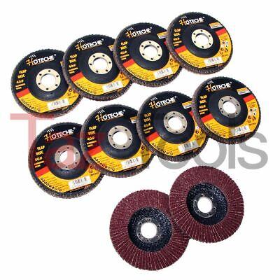 10 Pc 4-12x78 36 Grit Flap Disc Angle Grinding Sanding Wheels Aluminum Oxide