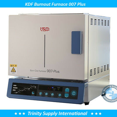 Burnout Furnace Quick Heat Rise Wide Chamber Dental Lab Kdf 007 . Made In Japan.