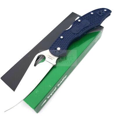 """Spyderco Byrd Cara Cara 2 Folding Knife 3.7"""" 8Cr13MoV Steel Blade FRN Handle"""