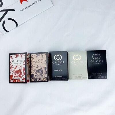 5 Gucci perfume sets 1.5ml each