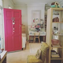 Large, airy, light filled studio apartment for short term rent Rozelle Leichhardt Area Preview