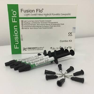Prevest Denpro Fusion Flo Light Cured Universal Nano Flowable Composite 4x2gm