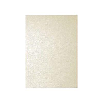 25 Blatt A4 120g Metallic Elfenbein Perlmutt Papier Pollen Clairefontaine