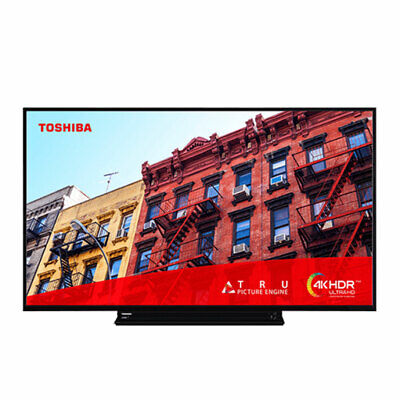 Toshiba 43VL3A63DB 43 Inch Smart 4K Ultra HD LED TV Freeview Play USB Recording