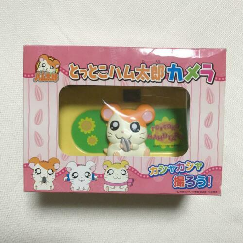 Super Rare Tottoko Hamutaro Hamtaro Film Camera Cute figure are stuck together
