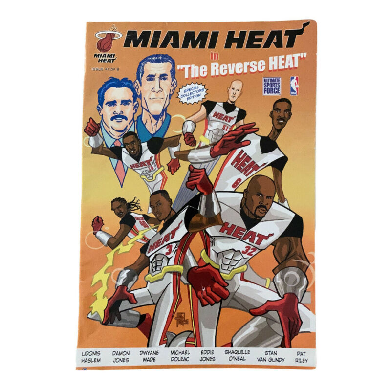 MIAMI HEAT SPECIAL EDITION COMIC BOOK #1 COLLECTOR EDITION 2005 SHAQUILLE O