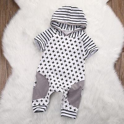 Kleinkind scherzt Baby-Jungen-Spielanzug-Overall-Ausstattungs-Baumwollkleidung ()