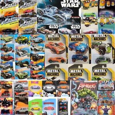 Hot Wheels Matchbox Dreamworks Zuru Nerf Diecast Cars Choose Your Favourite Car