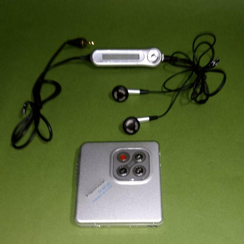 Panasonic SJ-MJ10 Portable MiniDisc MD player