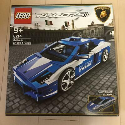 Lego Lamborghini 8214 RACERS Gallardo POLIZIA LP560-4 Blue Used with Box 626/MN