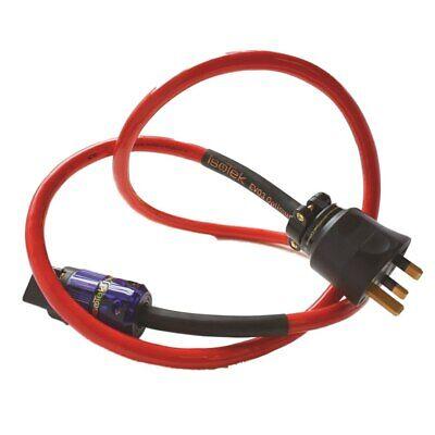 Isotek EVO3 Optimum Mains Cable 2.0m IEC 19 UK (High Current IEC)