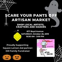 Scare Your Pants Off - Craft Market - October 26