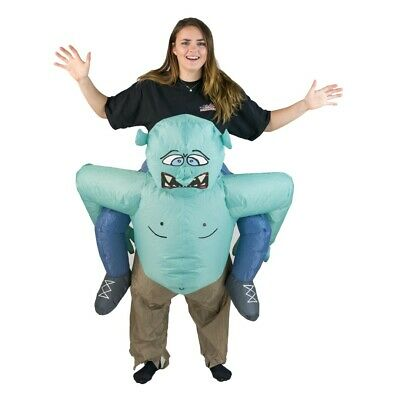Bodysocks® Troll Ogre Monster Lift Up Inflatable Costume Scary Funny Halloween