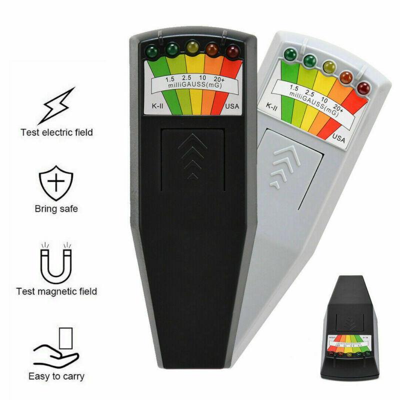 US LED EMF Meter Magnetic Field Detector Hunting Paranormal Equipment Tester