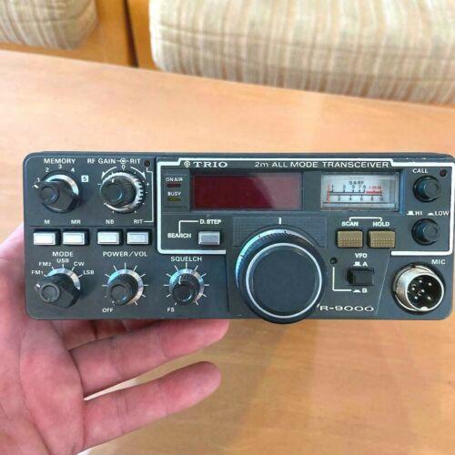 kenwood Trio TR-9000 VHF All mode Transceiver Tested Working Japan