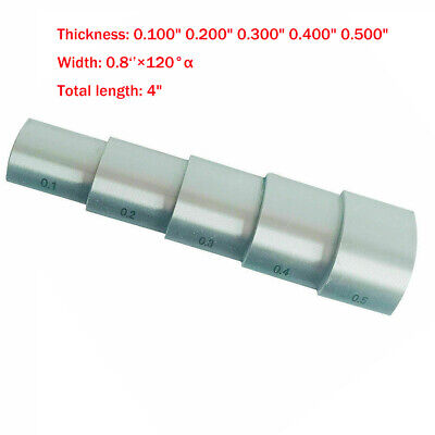 304 Stainless Steel Calibration Block For Ultrasonic Thickness Meter Curved Step