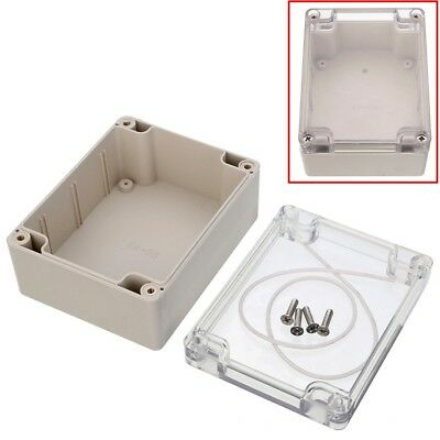 115x90x55mm Plastic Waterproof Clear Cover Electronic Project Box Enclosure Case