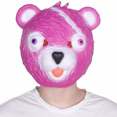Niedliche Teddy-Bär Maske als Partymaske für Halloween Karneval Fastnacht