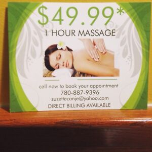 1 HOUR FULL BODY MASSAGE THERAPY