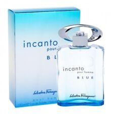 INCANTO BLUE pour homme by Salvatore Ferragamo 100ml 3.4 OZ Cologne New in Box