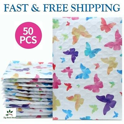 Small Padded Envelopes 4 X 8 Cute Shipping Cushioned Bubble Mailers Bags Package