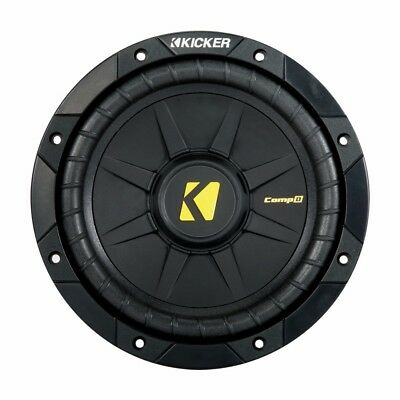 Kicker CompD 8 Inch 4 Ohm Subwoofer 40CWD84
