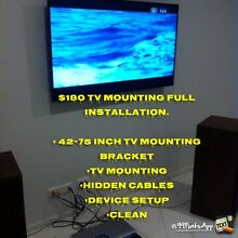DIGITAL TV MOUNTING BRACKET INSTALLATION AND SERVICES. Roxburgh Park Hume Area Preview