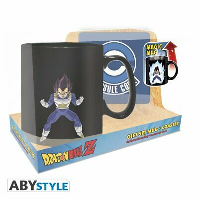 Dragon Ball Z - Vegeta Magic Mug & Coaster Gift Set
