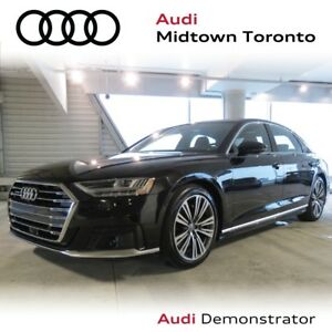 2019 Audi A8 L quattro w/ Audi Phonebox|Massage Seats|360 Cam