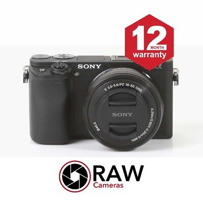SALE! Sony Alpha A6300 Mirrorless Camera With 16-50mm Kit Lens - BE QUICK!