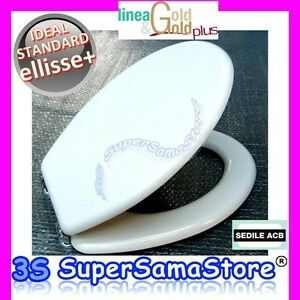 3s sedile vaso per wc ellisse pi ideal standard anima in for Copriwater ellisse ideal standard