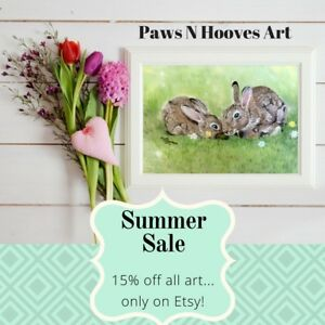 Local art - summer sale on now