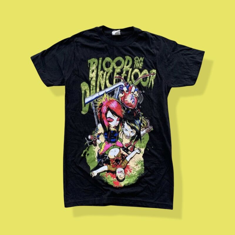 BOTDF Blood On The Dance Floor Rise & Shine Warped tour 2012 Shirt NEW S